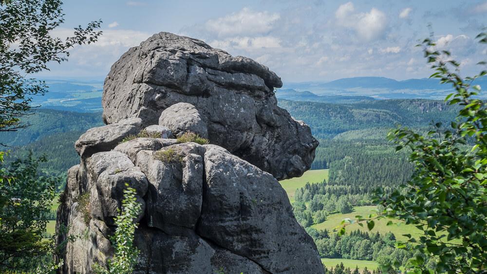 góry stołowe małpa, błędne skały