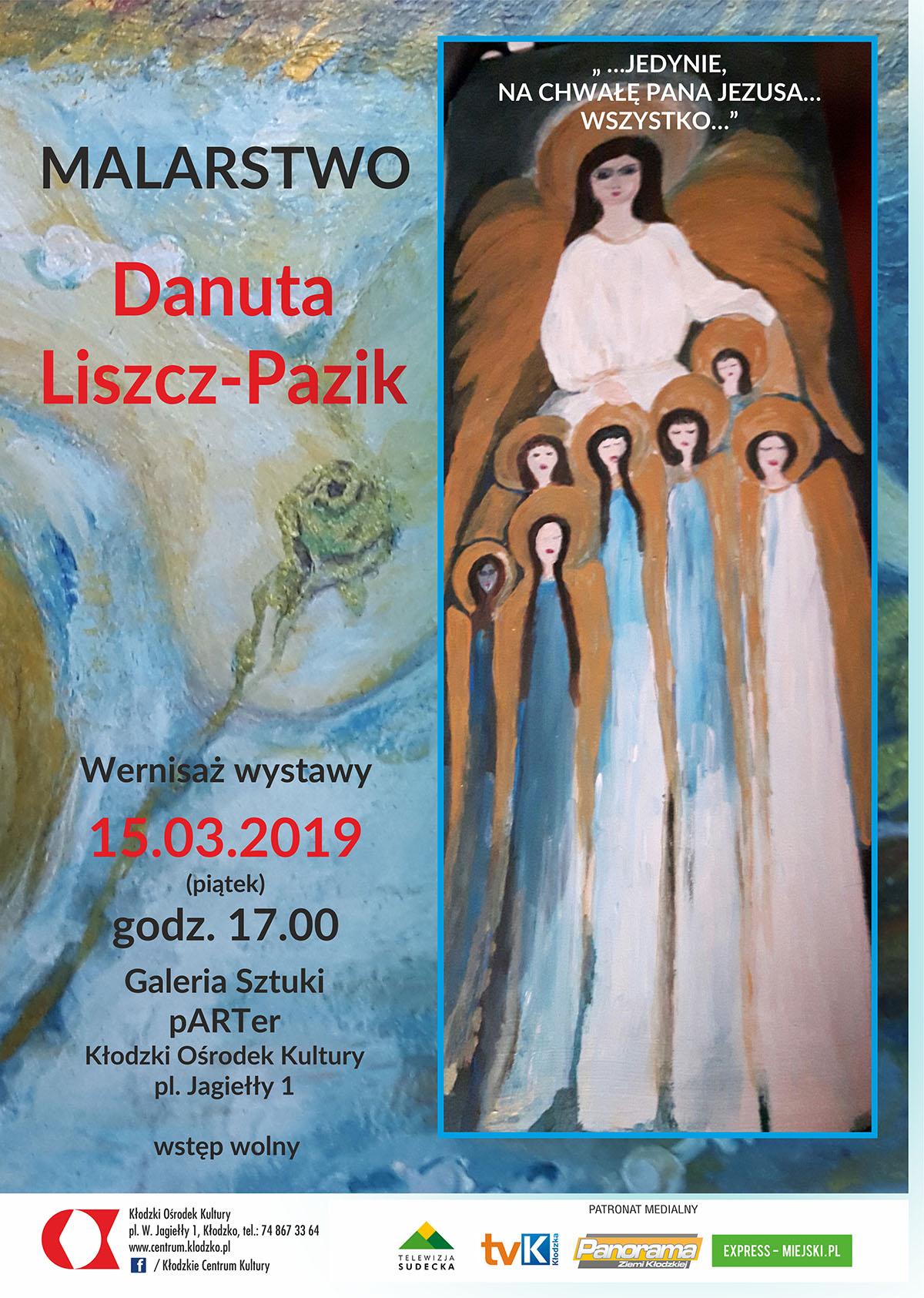 plakat_wernisaz_danuta_liszcz_wystawa_2019